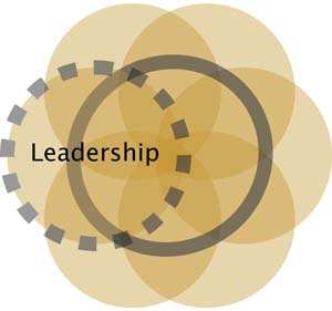 Collaboration Leadership Ven Diagram